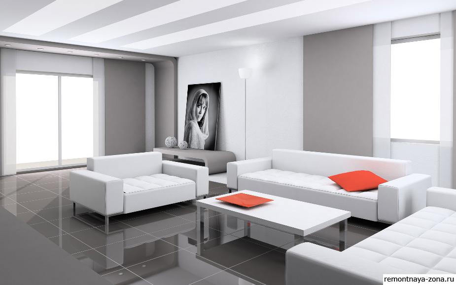«Холодная» красота хай-тека - уникальный дизайн интерьера