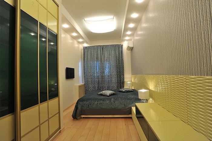 Реализация дизайн-проекта спальни Реализация интересного дизайн-проекта спального помещения