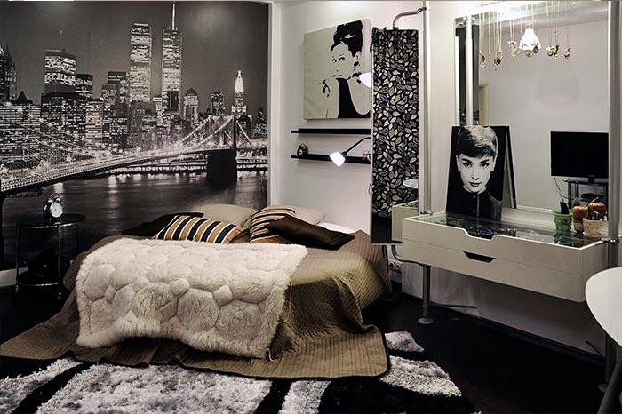 Реализация дизайн-проекта оригинальной спальни
