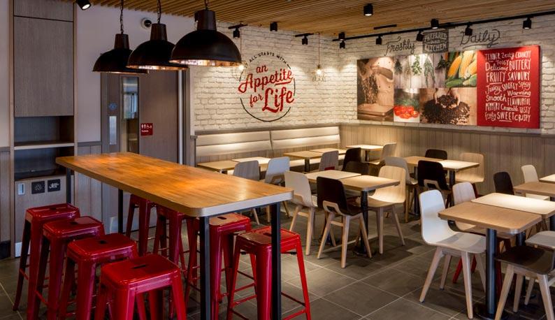 дизайн интерьера для кафе/ресторана