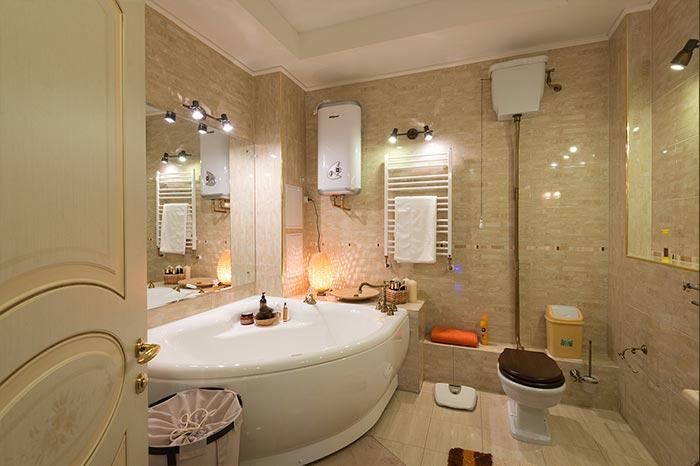 Особенности дизайна интерьера ванной комнаты