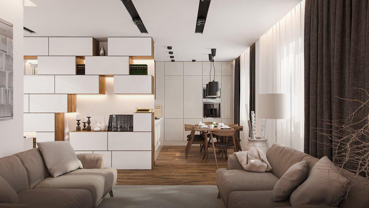 Как сделать дизайн большой квартиры? Оставляем пространство и дополняем функционал