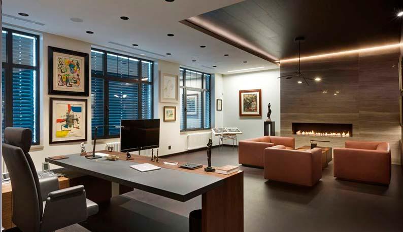 Наиболее популярные интерьерные решения для офисов