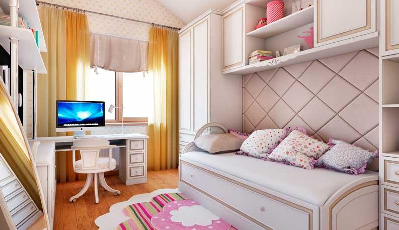 Оригинальные решения для дизайна интерьера детской комнаты
