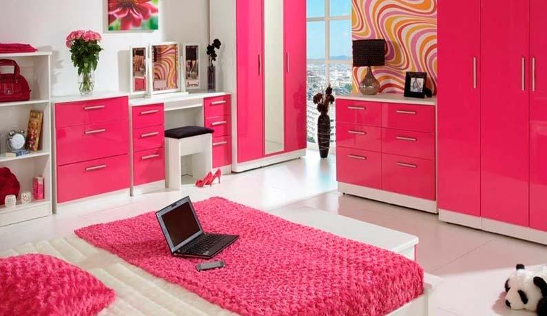 Дизайн интерьера в квартире молодой девушки