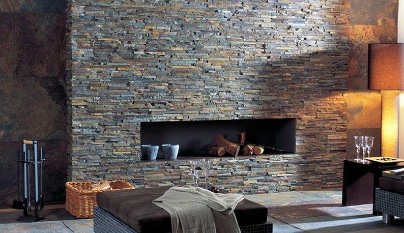 Натуральные и искусственные камни в дизайне интерьеров