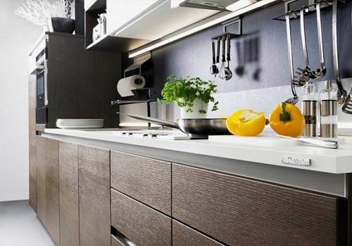 Практичная кухня без ручек с точки зрения дизайнера интерьера