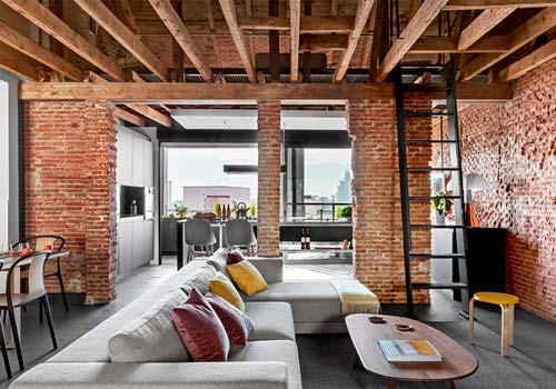 Как добавить уюта в стиль лофт?