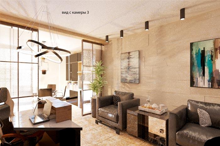 Дизайн интерьера для офиса в Москва-Сити