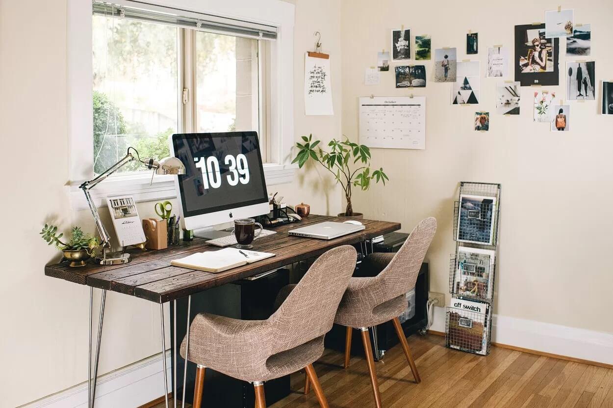 Как правильно обустроить рабочее место в квартире