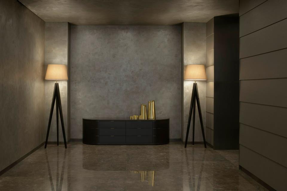 Новая классика в дизайне интерьера от Джорджио Армани