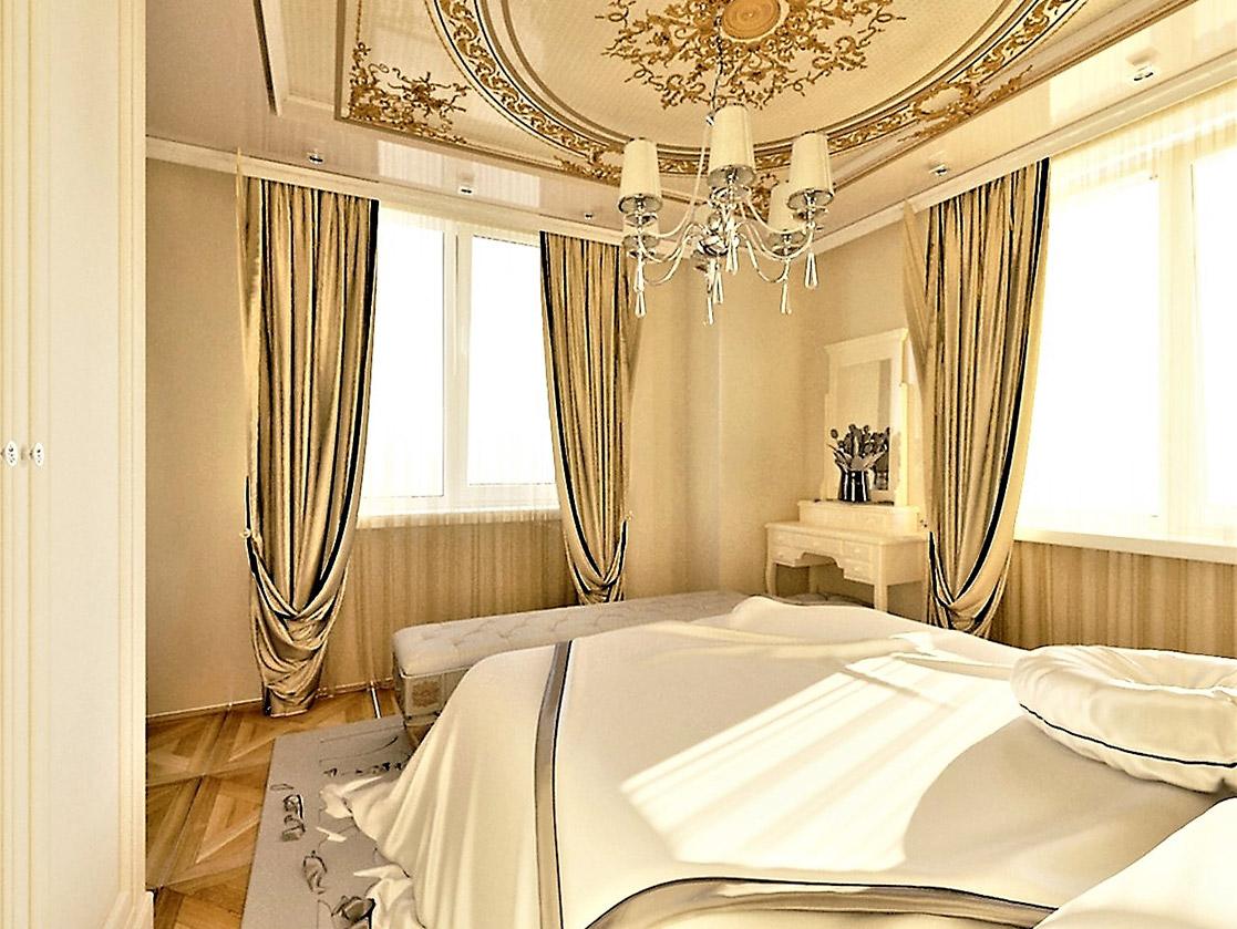 Квартира в стиле ампир